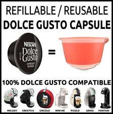 3 X Dolce Gusto Refillable Capsule set REUSABLE EMOHOME    SAVE MONEY