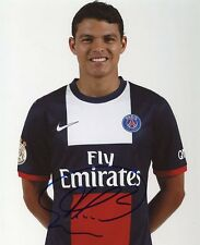 AUTOGRAPHE SUR PHOTO 20 x 25 de Thiago SILVA -PSG- (signed in person)
