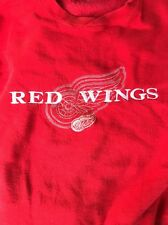 Detriot Red Wings NHL Embroidered Men's XL Sweatshirt Light Use