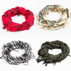 Arab Shemagh Keffiyeh Army Military Tactical Scarf Shawl Neck Head Cover Wrap