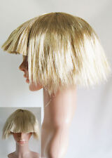 BB8 Lady Gaga Short Blonde Avant Garde Bob Fancy Dress Costume Party Wig