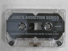 JANE'S ADDICTION Demos US Triple X Promo CASSETTE Radio Tokyo 1986 PERRY FARRELL