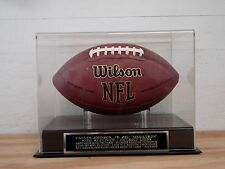 Calvin Johnson Jr. Lions Football Display Case For Your Autographed Football