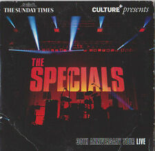 THE SPECIALS PROMO CD 30TH ANNIVERSARY TOUR LIVE 12 TRACKS