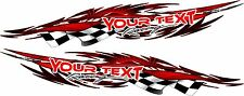 Boat Car Truck Trailer Motorcycle Graphics Decal Vinyl Stickers 2- 50in Wrap