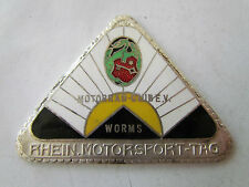 MOTORRAD CLUB WORMS MOTORSPORT TAG 1927 BADGE PLAKETTE BMW NSU DKW JAP MAG BARK