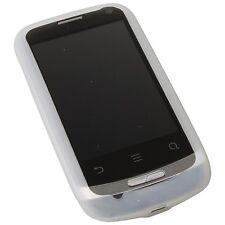 Silicon Case Handy Schutz weiss für Huawei Ideos X3