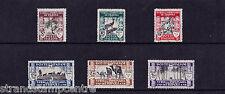 Italy (Tripolitania) - 1929 3rd Tripoli Trade Fair - Mtd Mint - SG 63-68