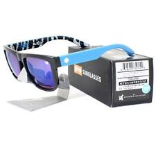 Spy 673119781317 KEN BLOCK DISCORD Black Happy Bronze Dark Blue Spec Sunglasses