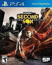 inFamous: Second Son -- Limited Edition (Sony PlayStation 4, 2014)
