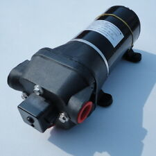 Universal12V Black High Pressure Water Pump DC 40 PSI 4.5 GPM. Fittings Superior