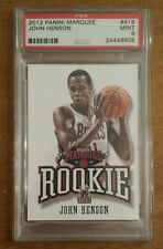 JOHN HENSON ROOKIE - 2012 Panini Marquee #419 RC Leather  **PSA 9** POP 2 NO 10s
