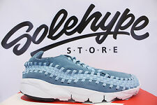 NIKE AIR FOOTSCAPE WOVEN CHUKKA NM SMOKEY BLUE 875797 002 SZ 10