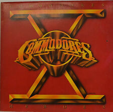 "COMMODORES - HEROES MOTOWN 064-63 867 12"" LP (W 730)"