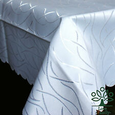 Rectangle Polyester Tablecloth Restaurant Banquet Tablecover 6 Colors 110x140cm
