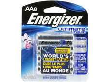 Energizer L91BP-8 Ultimate Lithium AA Batteries (8-Pack), 1.5v AA8 3000mAh X2036