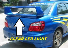 "FOR SUBARU IMPREZA SEDAN ""STI Style"" w/CLEAR Light Primer Rear Spoiler 2002-2007"