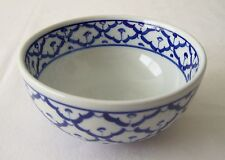 Soup Bowl x2 for Asian Style INDIVIDUAL PLACE SETTING Blue White NEW ShipsFr USA