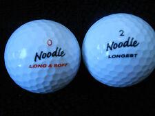 """20  MAXFLI   NOODLE - """"LONGEST"""" - Golf Balls -  """"PEARL/A""""  Grades."""