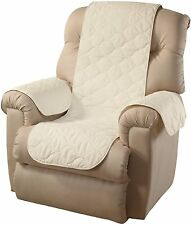 Quilted Pet Arm Chair Cover