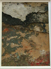 JEAN GIBSON 1927-1991 GREAT BRITAIN 1967 MIXED MEDIA COLLAGE MID CENTURY
