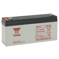 YUASA NP2.8-6, 6V 2.8AH LEAD-ACID BATTERY SAME AS YUCEL Y3.2-6, 6V 3.2AH