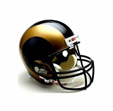 St. Louis Rams Riddell NFL Football Team Logo Full Size Deluxe Helmet