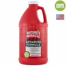 Nature's Miracle Advanced Formula Pet Stain & Odor Remover 64 Oz. For Dogs