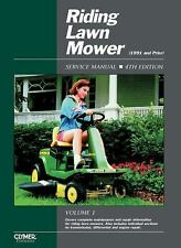 Riding Lawn Mower Service Manual, Vol. 1 (4th Edition) (Clymer Pro)-ExLibrary