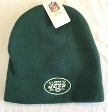 NY NEW YORK JETS Logo NFL New Green Ski Cap Beanie Hat NWT NFL Team Apparel