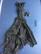 "Tonner Tyler Antoinette Cami 16""  Sheer Black Dress Fashion Doll Clothes Outfit"
