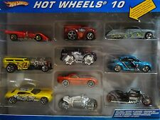 Hot Wheels 10 Car Gift Set w/Exclusive Grey Passion, Blue Volkswagen Beetle Cup