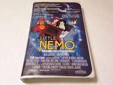Little Nemo Adventures in Slumberland (VHS 1993) Clamshell Video Cassette Tape