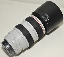 Canon EF 70-300mm f/4-5.6L IS USM Zoom Lens, Filter, Lens Hood, Warranty, Boxed