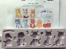Karen Davies Cats Sugarcraft Mould   NEXT DAY DESPATCH