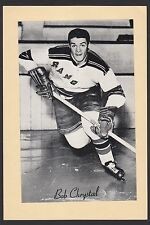 1945-1964 Beehive Group II 2 Hockey Bob Chrystal New York Rangers High Grade