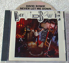 DAVID BOWIE ~ NEVER LET ME DOWN ~ JAPAN for USA ~CD~ RARE ~ 1st PRESS Mint/NM
