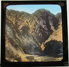 COLOUR Magic Lantern Slide DEFILE NEAR RED SEA