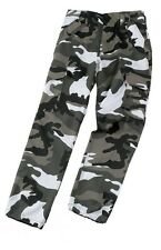 Mens Camouflage Army Combat Trousers Desert Night Urban Woodland Urban 28 - 44