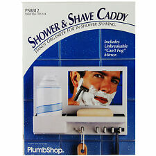 Plumb Shop Bath/Shower & Shave Caddy PS8812