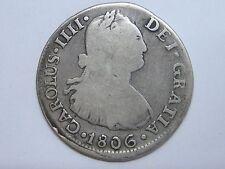 1806 Jp Charles Iv 2 Real Peru Lima Spanish Spain
