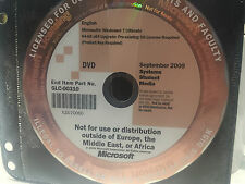 Microsoft Windows 7 Ultimate 64-bit DVD with Genuine Product Key