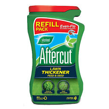 WESTLAND AFTERCUT LAWN THICKENER 80M² SPREADER REFILL GREEN GRASS SEED AND FEED