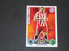 MARIO GOMEZ BAYERN MUNICH TOPPS MATCH ATTAX PANINI FOOTBALL BUNDESLIGA 2010-2011