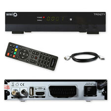 HD Sat-Receiver HDTV WWIO Trinity USB FullHD Unicable Media player 3D