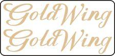2 Stck. GOLDWING  Aufkleber Farbe GOLD Sticker Größe 275x63 mm GL 1500  GL1500
