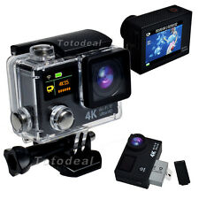 Campark WiFi HD 4K Sport Action Camera Dual LCD Video Record Waterproof US STOCK