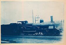 Cyanotype Locomotive 2.101 c. 1900 -  Nord - 116