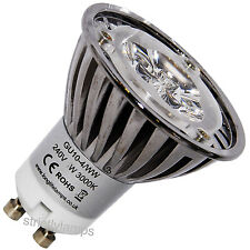 GU10 LED Replacment Halogen Bulb 4W Warm White High Power Pack Of 10 New