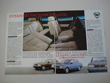 advertising Pubblicità 1983 LANCIA TREVI VOLUMEX/2000 IE/1600